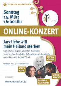 Onlinekonzert - Barockmusik zur Passionszeit